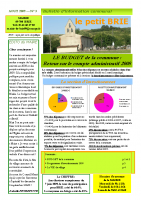 Le Petit BRIE N°03 – août 2009